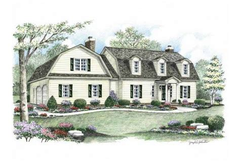 eplans colonial house plan two story great room 2256 2 story dutch colonial eplans colonial house plan four