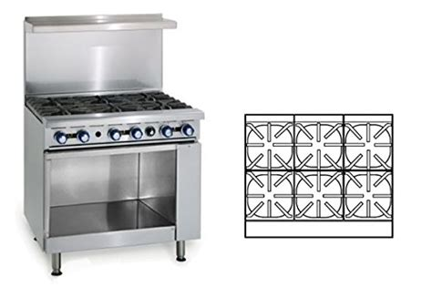 36 range cabinet imperial 36 inch range with 6 burners and cabinet