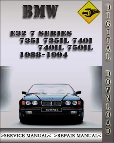 service manual 1992 bmw 7 series service manual bmw 7 series e32 service manual 1988 1989