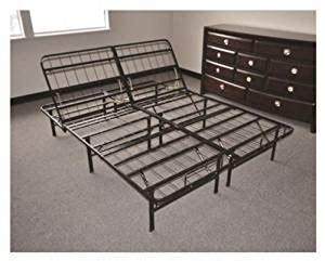 amazon king bed frame amazon com easy change adjustable platform bed frame king