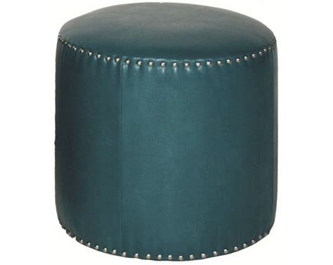 round leather ottoman with nailheads top 31 ideas about ottomans on pinterest round ottoman