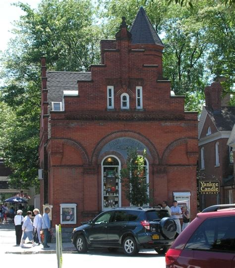 Stockbridge Tag Office by Stockbridge Historic Buildings Of Massachusetts
