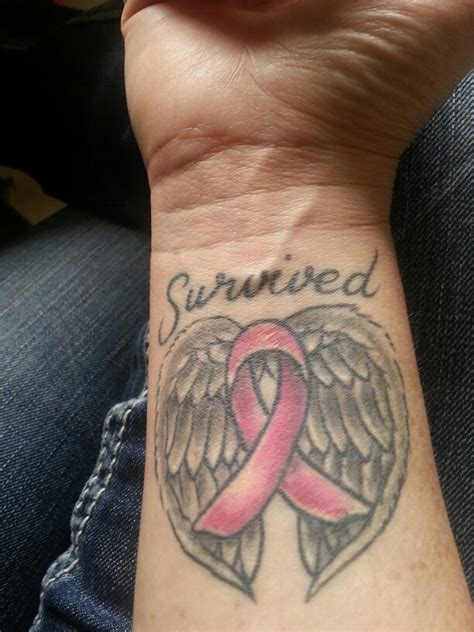 cancer survivor tattoos breast cancer breast cancer