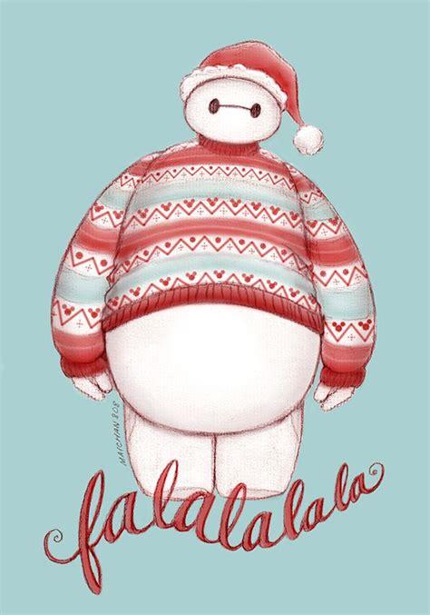 Baymax Wallpaper Christmas | christmas baymax fa la la la la by maichan art winter