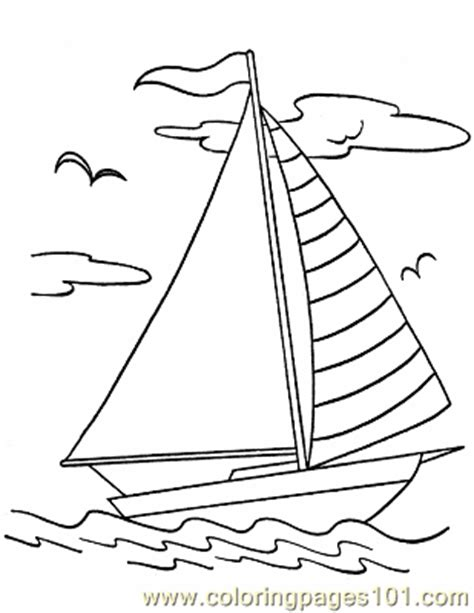 coloring pages of water transport 016 boats to print color coloring page free water