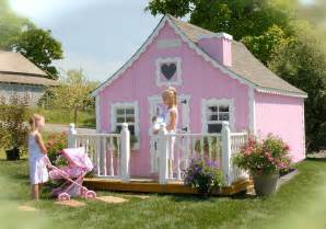 outside playhouse plans charming wooden outdoor playhouses home design garden architecture blog magazine
