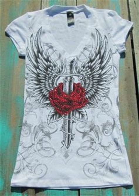 rose tattoo band shirt 1000 images about bling cross top on