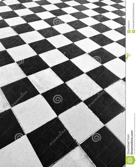 Black And White Ceramic Floor Tile Black And White Tile Floor Stock Photo Image 58492276