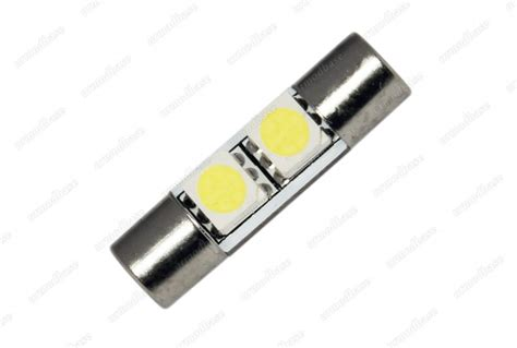fuse bulb lights 2x 28mm led white fuse bulb festoon sun visor vanity