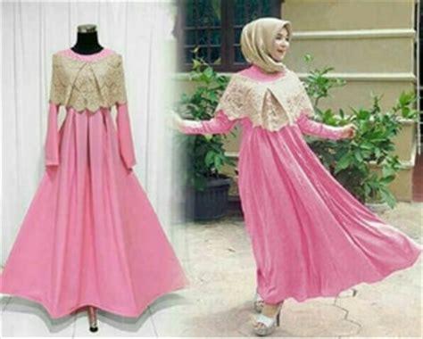 Dress Sabrina Modern model baju gamis dress sabrina muslim modern terbaru
