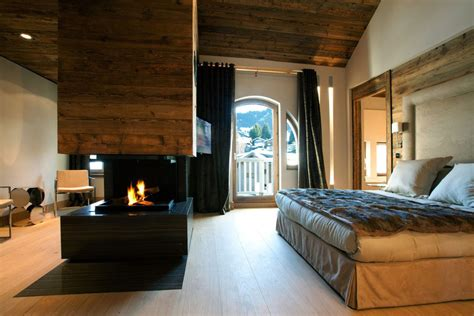 Cottage Master Bedroom Ideas modern fireplace bedroom iced winter apartment by bo design