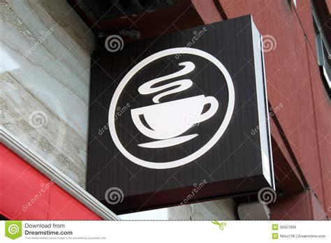coffee shop signage design coffee shop sign royalty free stock images image 35557899