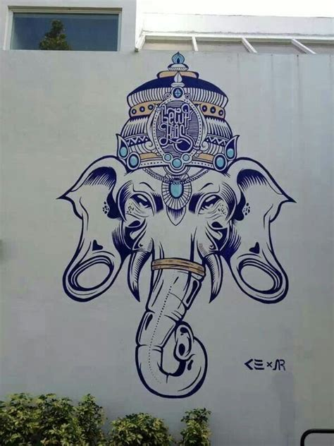ganesh tattoo mexico 96 best skulls images on pinterest