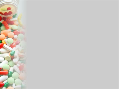 Pills Sidebar Backgrounds For Powerpoint Health And Medical Ppt Templates Pills Powerpoint Template