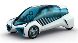 Electric Car From Toyota Wallpaper Ces 2016 Toyota Fcv Plus Electric Car Cars