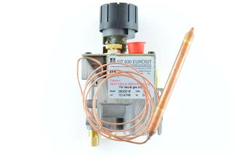 eurosit 630 fireplace gas valve gas parts