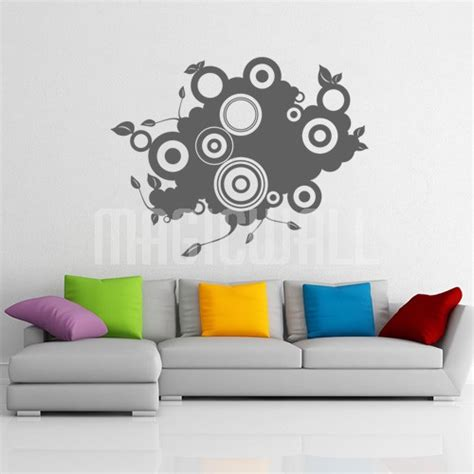 wall decals abstract shape wall stickers