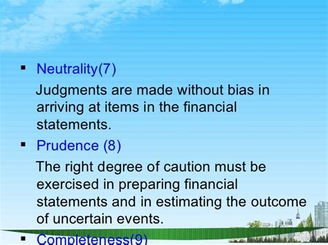 Mba Without Accounting by Accounting Conventions Ppt Mba Finance