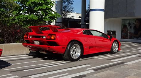 1994 lamborghini diablo vt 1994 lamborghini diablo vt coupe in paint engine