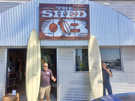 Shed Nine Surf Shop by San Diego Community News Birds Surf Shed Opens