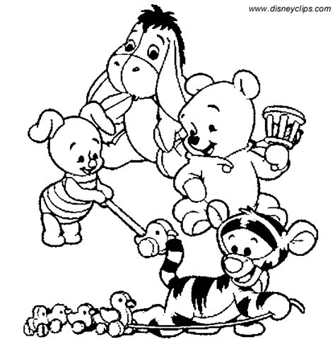 coloring pages winnie the pooh baby winnie the pooh coloring page minister coloring