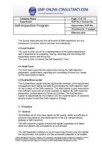 gmp audit report template audit