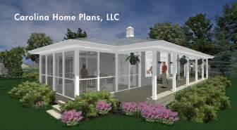 Small House Plans Screened Porch Screened Porch Connects To A Large Wrap Around Porch For