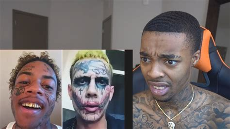 joker tattoo gang boonk beefs with another man over being the real joker