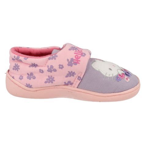 hello kitty house slippers girls hello kitty house slippers ebay