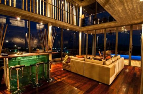 dream house design inside and outside contemporary luxury dream house with beautiful infinity pool phuket thailand