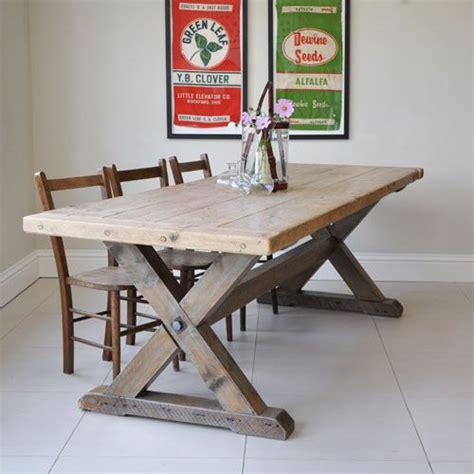 trestle kitchen table best 25 trestle dining tables ideas on