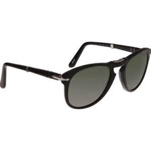 Folding Sunglasses Persol Folding Sunglasses In Black For Lyst