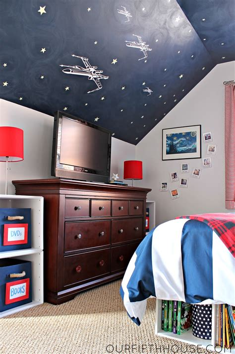 Wars Bedrooms by My Wars Loving Boy S Bedroom Our Fifth House