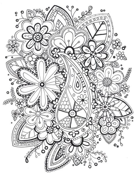 Coloring Page Zentangle by Zentangle Coloring Pages Coloring Home