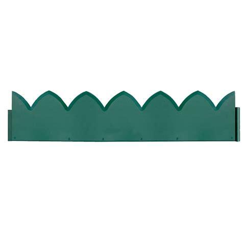 verve green steel border edging pack of 1 departments diy at b q