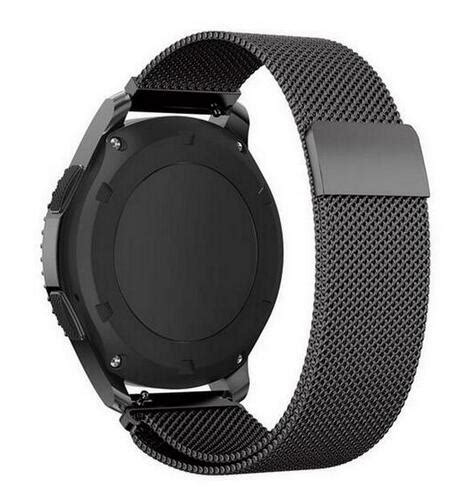 Milanese Magnetic Loop Stainless Steel 20mm Gear S2 Classic R732 22mm 20mm milanese for samsung gear s3 frontier classic