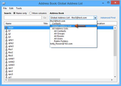 add global address list gal to contacts in outlook 2010 how to add contacts from global address list address book