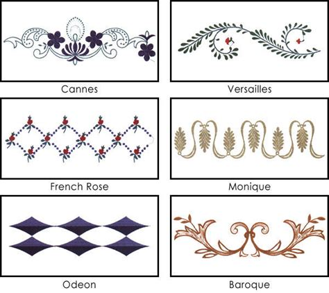 pattern recognition in french custom beddings