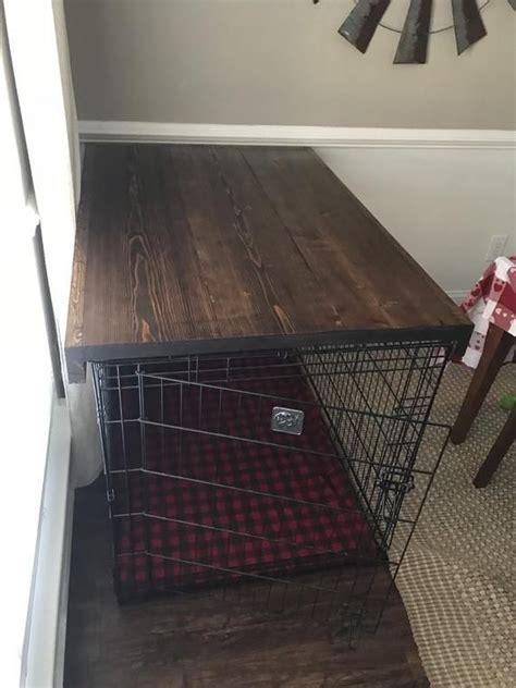 dog crate topper dog crate furniture diy dog crate dog
