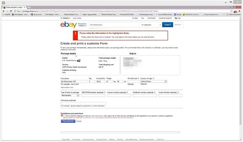 Does Ebay Count As Work Experience For An Mba Program by How To Print Ebay International Shipping Labels With