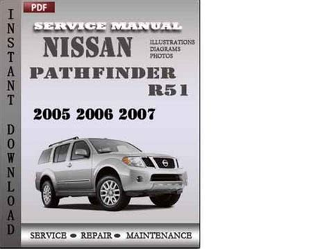 service and repair manuals 2005 nissan pathfinder navigation system nissan pathfinder r51 2005 2006 2007 factory service repair manual