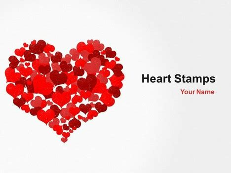 heart powerpoint templates heart sts powerpoint