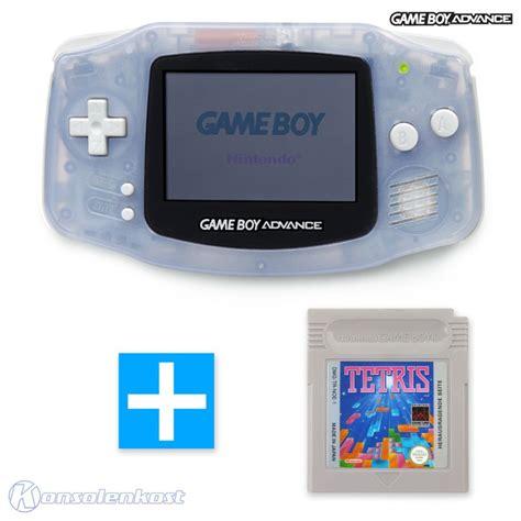 gameboy advance console gameboy advance console clear blue clear blue
