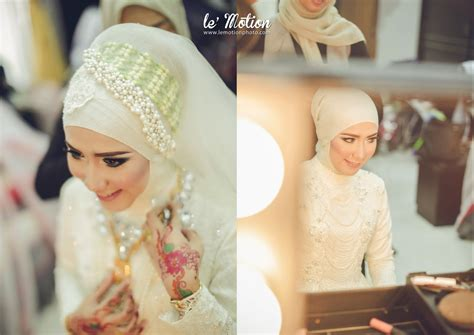 Make Up Anpasuha le motion photo putri rafdi wedding day