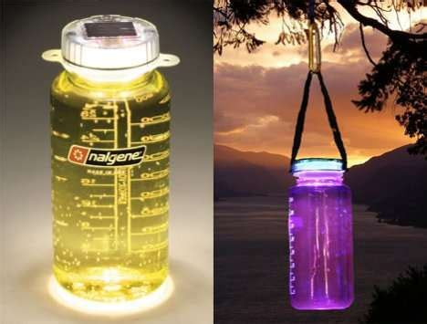 Lightcap Bottle Helps You Drink In The 38 innovative ways to drink water