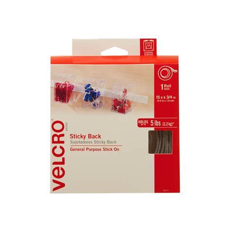 Taping Skrup 4 X 1 B velcro brand 15 ft x 3 4 in sticky back 90277b