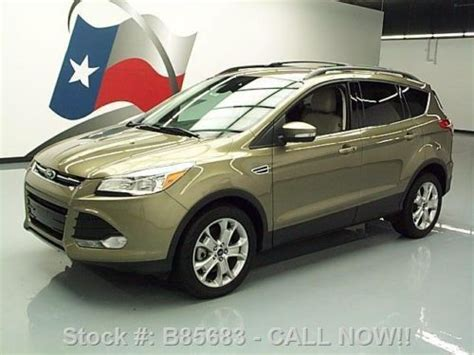 Roof Rack 2013 Ford Escape by Find Used 2013 Ford Escape Sel Ecoboost Htd Leather Roof