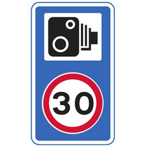 speed limit signs – driving test tips