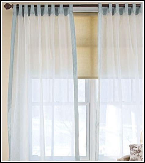 Tab Curtains With Buttons » Home Design 2017