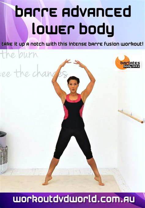 barre advanced lower dvd